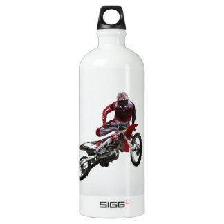 Stunt Bike Aluminum Water Bottle