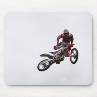 Stunt Bike Mouse Pad