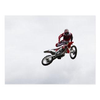 Stunt Bike Postcard