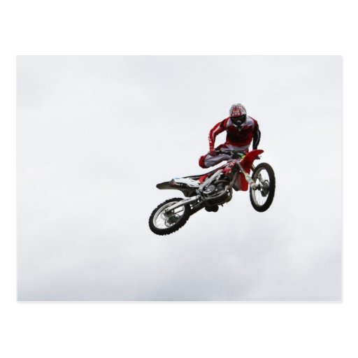 Stunt Bike Post Card
