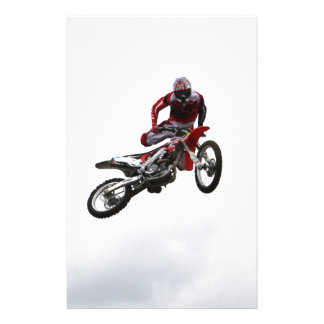Stunt Bike Personalized Stationery