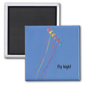 Stunt Kite Flying in the Sky Magnet