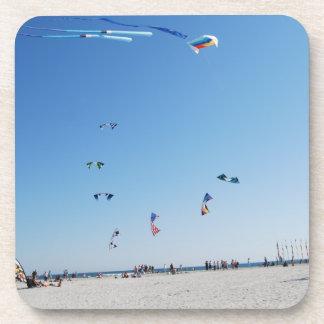 Stunt Kites in Formation Drink Coaster