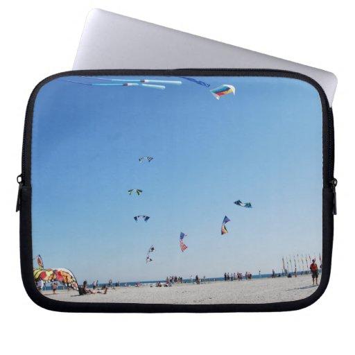 Stunt Kites in Formation Laptop Computer Sleeve