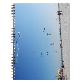 Stunt Kites in Formation Notebook