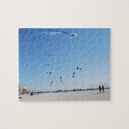 Stunt Kites in Formation Puzzle