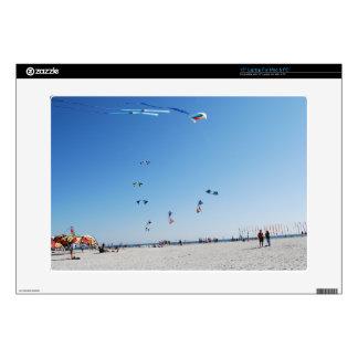 """Stunt Kites in Formation 15"""" Laptop Decals"""