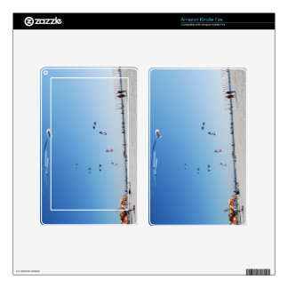 Stunt Kites in Formation Skin For Kindle Fire