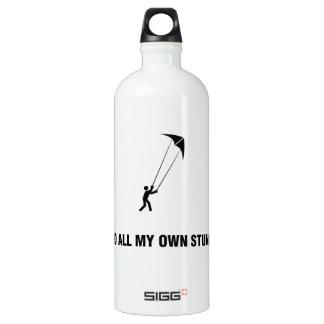 Stunt Kiting Aluminum Water Bottle