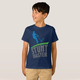 565ff85d STUNT MASTER, extreme scoot, scooter kids t-shirt