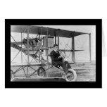 Stunt Pilot Lincoln Beachey 1912 Greeting Card