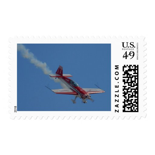 Stunt Plane Stamps