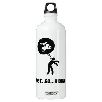 Stunt Rider Aluminum Water Bottle