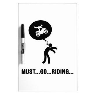 Stunt Rider Dry Erase Whiteboard