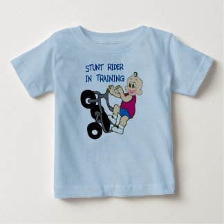 Stunt Rider In Training Baby T-Shirt