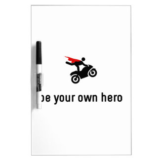 Stunt Riding Hero Dry-Erase Board