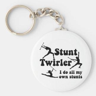 Stunt Twirler Keychain