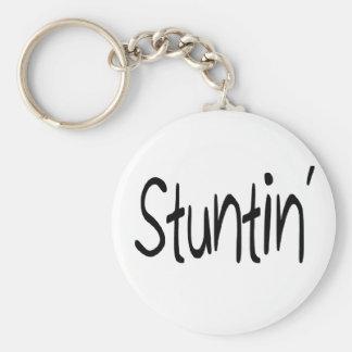 Stuntin' Keychain