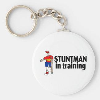 Stuntman In Training 2 Basic Round Button Keychain