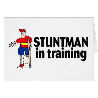 Stuntman In Training 2 Greeting Card
