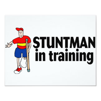 Stuntman In Training 2 Card