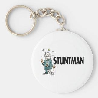 Stuntman Keychain
