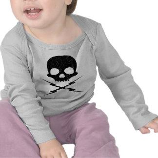 Stuntman Mike Death Proof Skull Crossbolts T-shirt