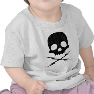 Stuntman Mike Death Proof Skull Crossbolts Shirts
