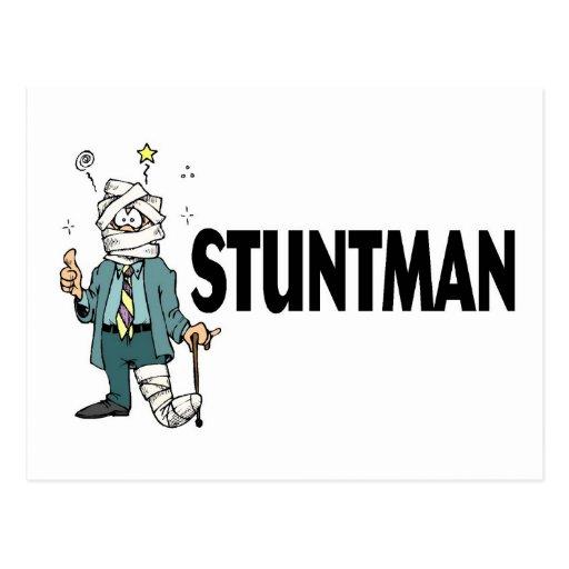 Stuntman Postales