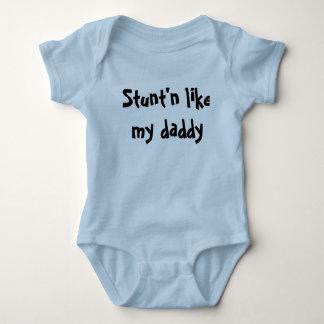 Stunt'n Like My Daddy Infant Creeper