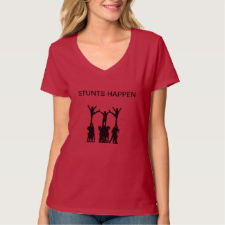 Stunts Happen Cheer Shirt