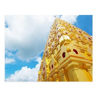 Stupa de oro tarjeta postal
