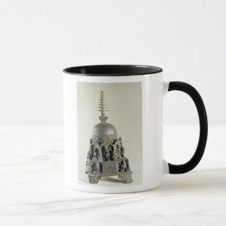 Stupa, Pala, Nalanda, Bihar (bronze) Mug