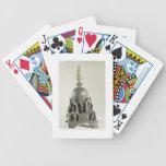 Stupa, Pala, Nalanda, Bihar (bronze) Bicycle Poker Cards