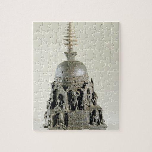Stupa, Pala, Nalanda, Bihar (bronze) Puzzle