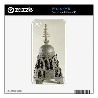 Stupa, Pala, Nalanda, Bihar (bronze) Skins For iPhone 4S