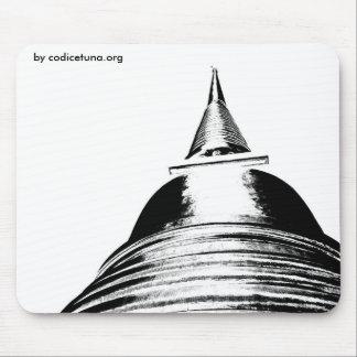 stupa por codicetuna.org tapete de ratón