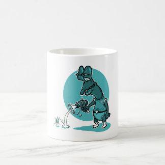 stupid alien cartoon style funny illustration coffee mug