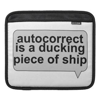 Stupid Autocorrect Sucks iPad Sleeve
