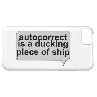 Stupid Autocorrect Sucks iPhone 5C Case