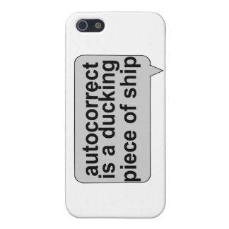 Stupid Autocorrect Sucks iPhone SE/5/5s Case