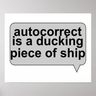 Stupid Autocorrect Sucks Posters