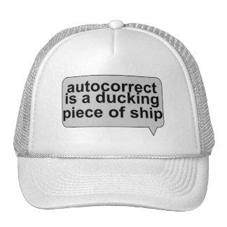 Stupid Autocorrect Sucks Trucker Hat