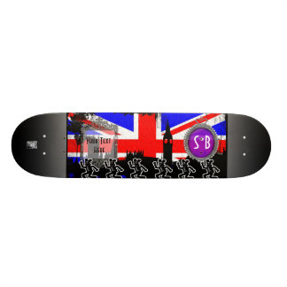 stupid bear london skateboard deck