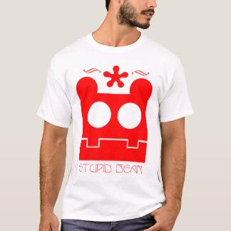 stupid bear wear red T-Shirt