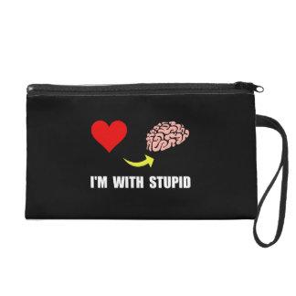 Stupid Brain Wristlets