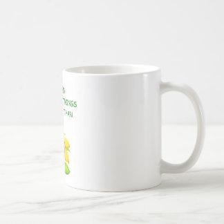 stupid classic white coffee mug