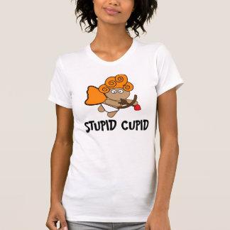 Stupid Cupid, Funny Anti-Valentine's Day T-shirts