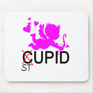 Stupid Cupid Tee.png Mouse Pad