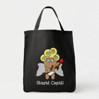 Stupid Cupid Tote Bag